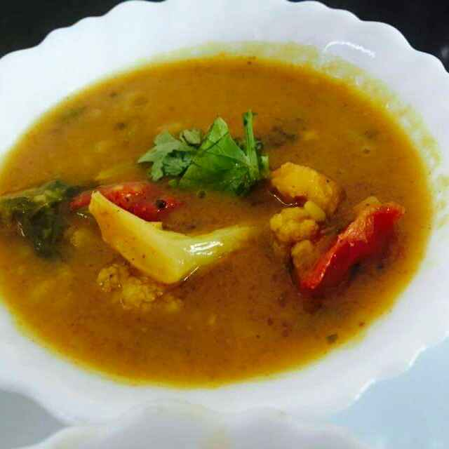 Photo of Cauliflower Dal by Khushboo Gangotri at BetterButter