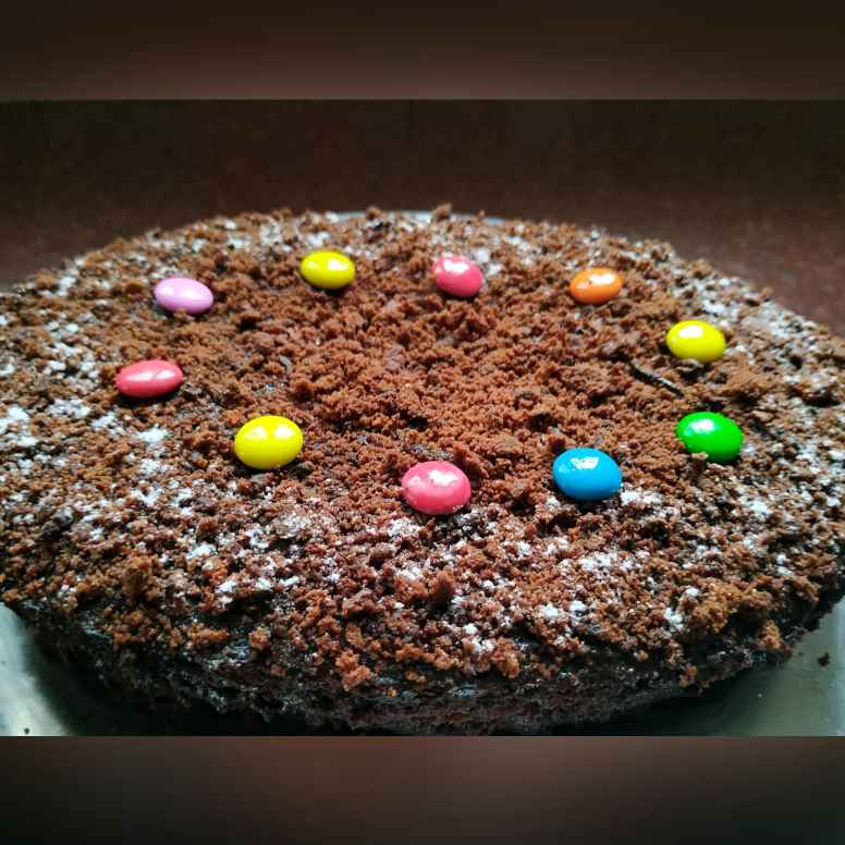 Photo of Gems Chocolate cake by khushboo sharma at BetterButter
