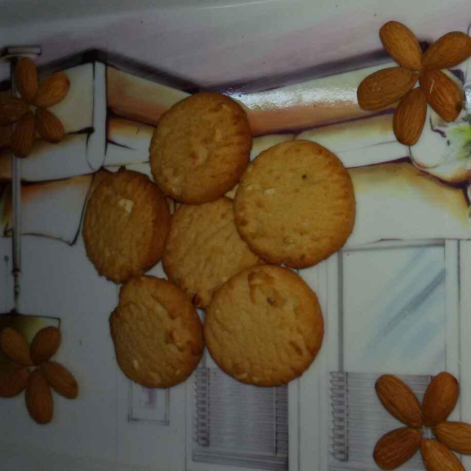 How to make Pista Badam biscuits