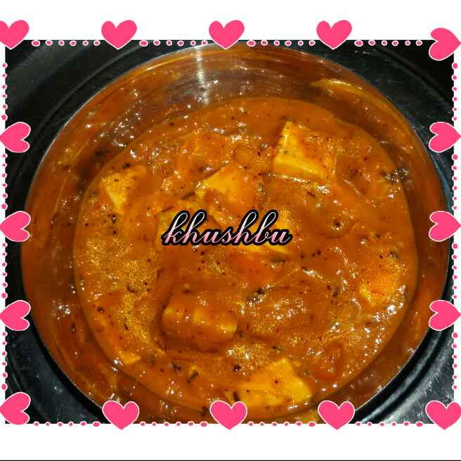 Photo of Paneer butter masala by Khushbu Singal at BetterButter