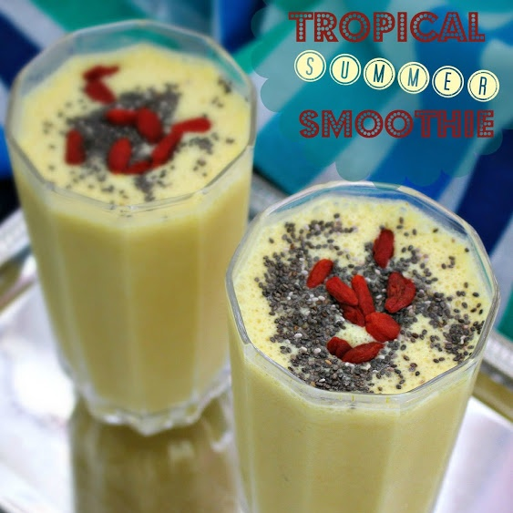 How to make TROPICAL SUMMER SMOOTHIE