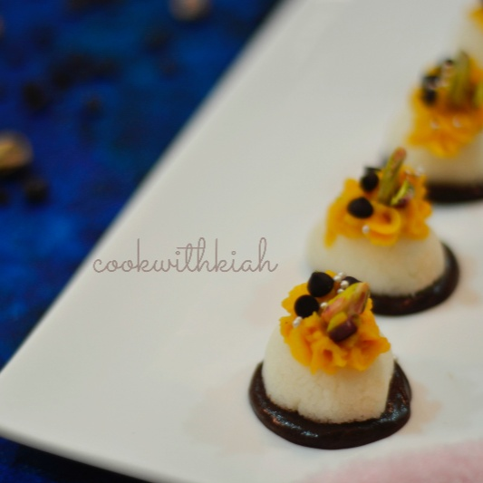 How to make Chocolate Cheesecake Rasgullas