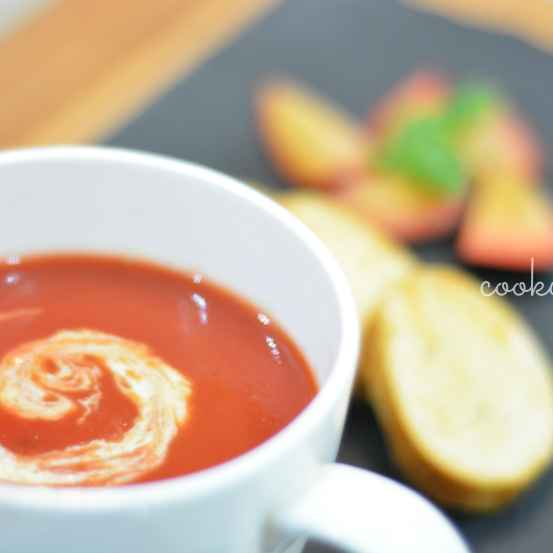 How to make Carrot and plum soup