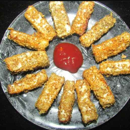How to make Papad paneer sticks