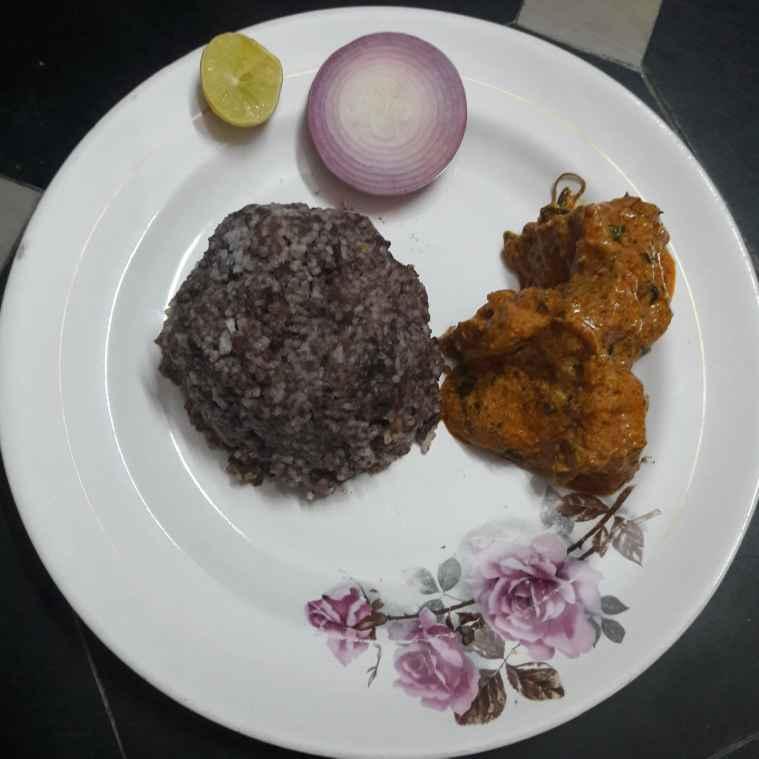 Photo of Ragi sankati,chicken  by Kiran Gopisetti at BetterButter