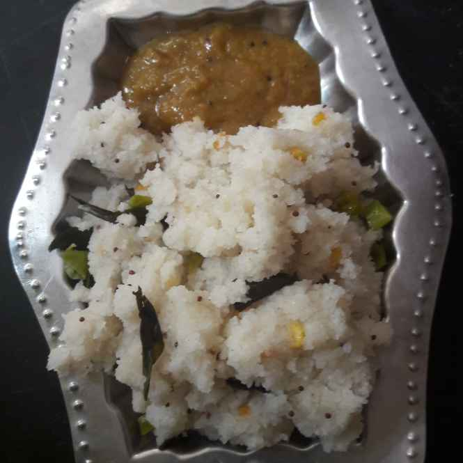 Photo of Ground rice upma  by Kiran Gopisetti at BetterButter