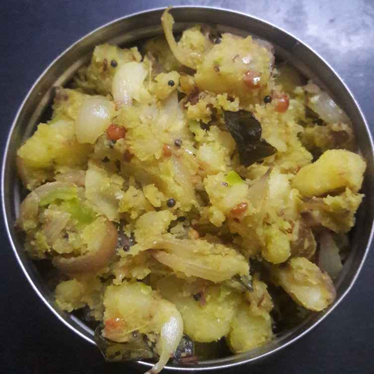 Photo of aloo curry with green chilli paste  by Kiran Gopisetti at BetterButter