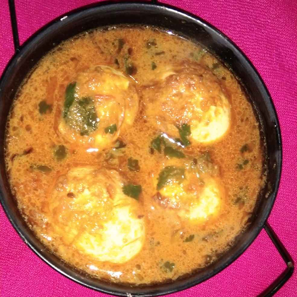 How to make Butter egg curry