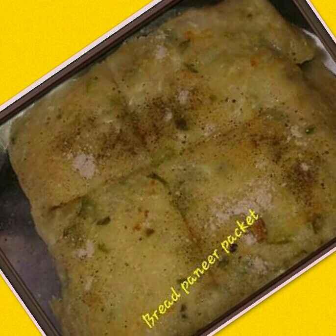 Photo of Bread paneer pocket by Kiran Kherajani at BetterButter
