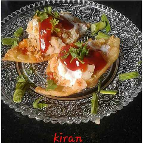 How to make Dahi chat papdi