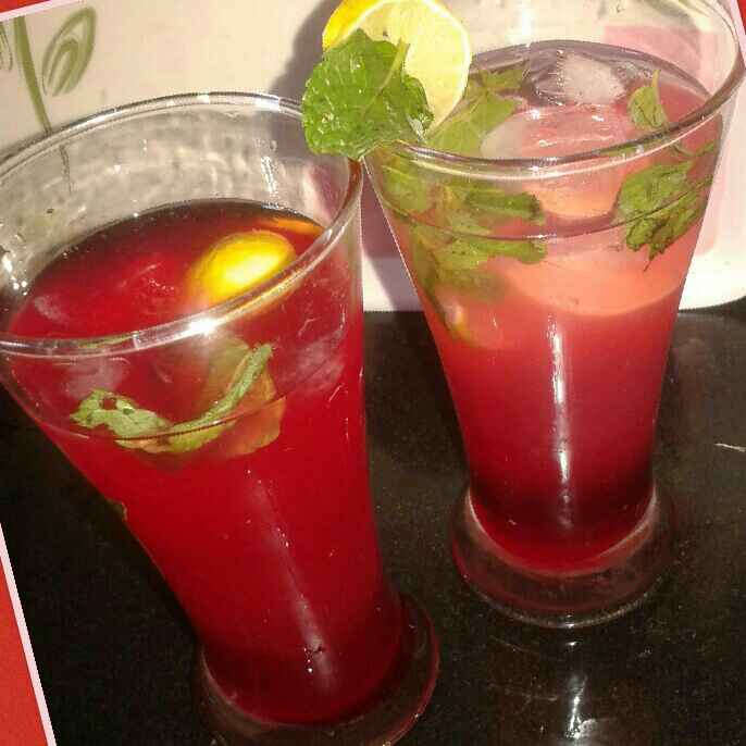 Photo of Rose Lemonade by Kiran Kherajani at BetterButter