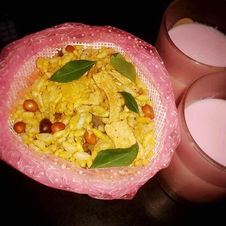 How to make Maggi Masala Puffed Rice