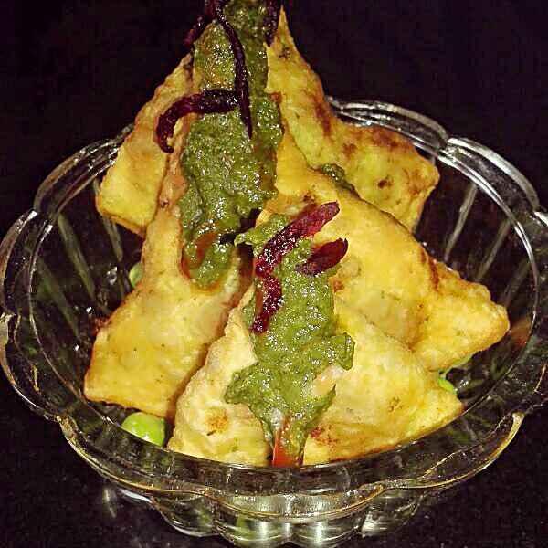 Photo of Palak samosa by Kiran Kherajani at BetterButter