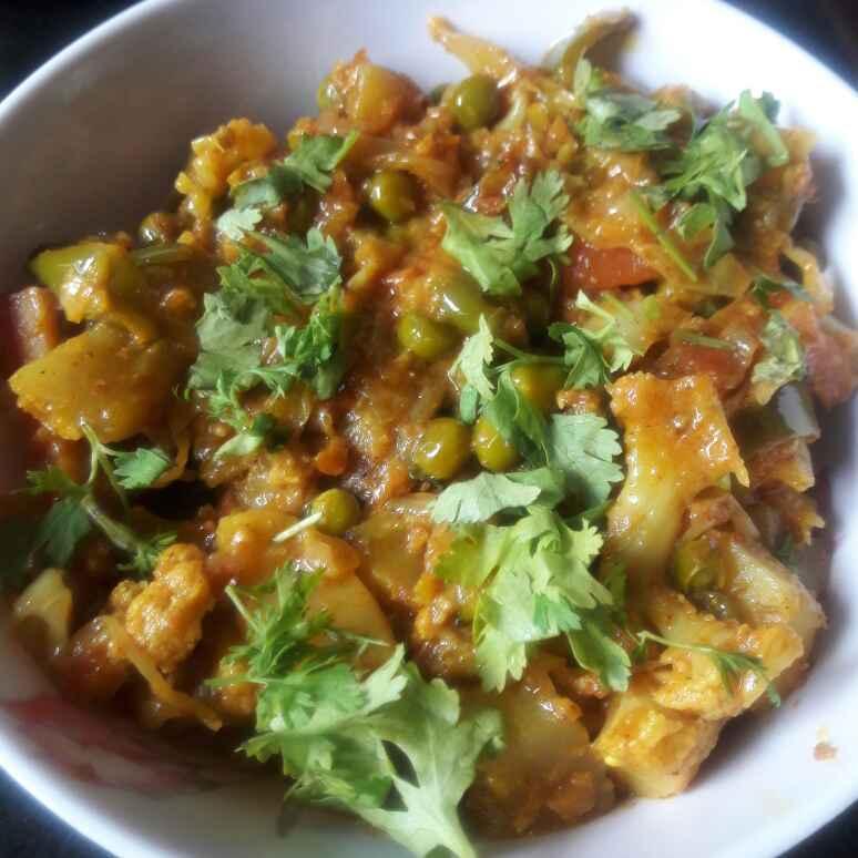 Photo of Creamy mix veg by Kiran Kherajani at BetterButter