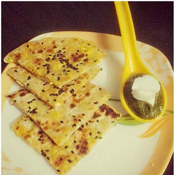Photo of Butter paneer kulcha by Kiran Kherajani at BetterButter