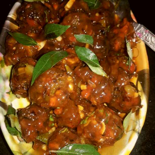 How to make Tomato gravy manchurian