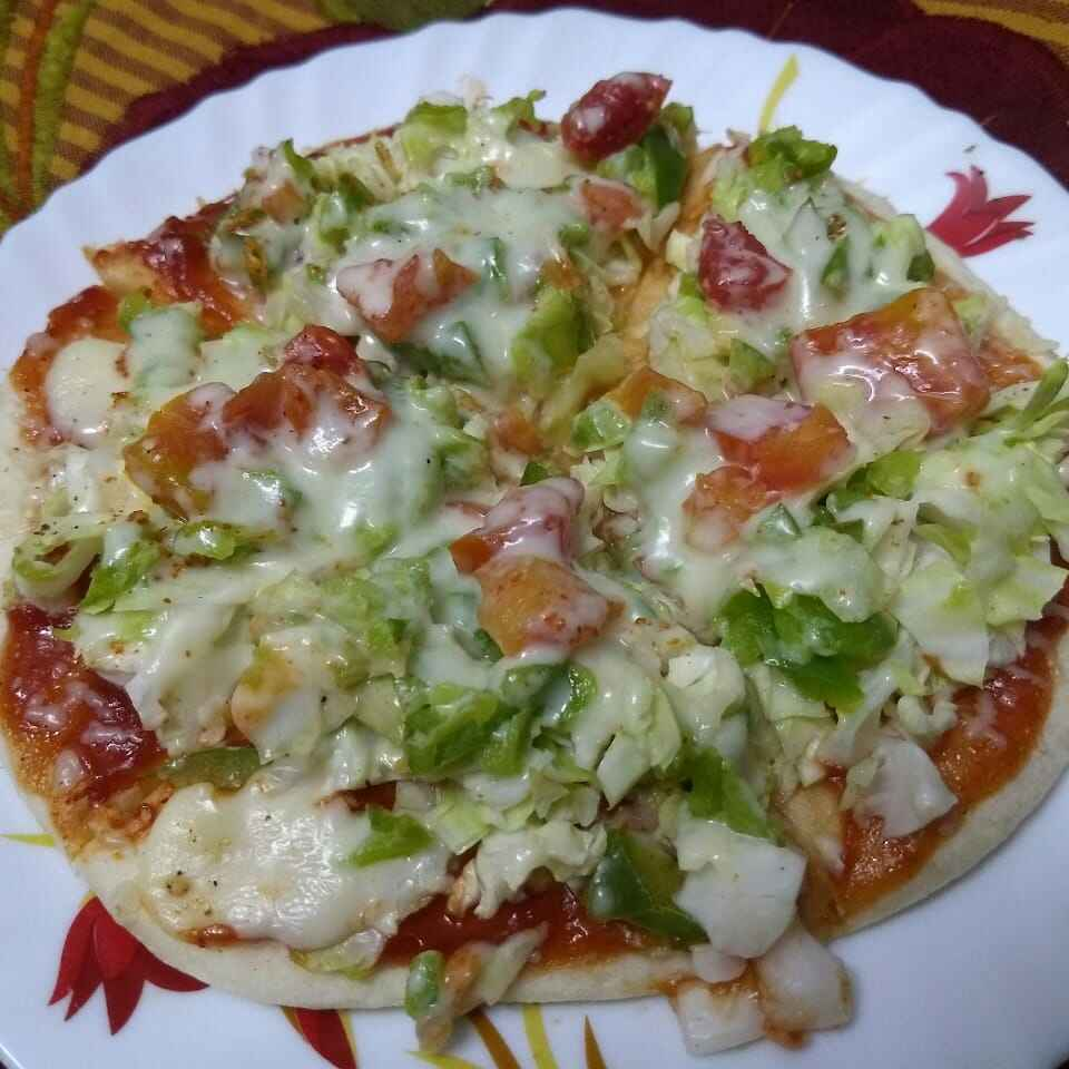 How to make Home made pen pizza