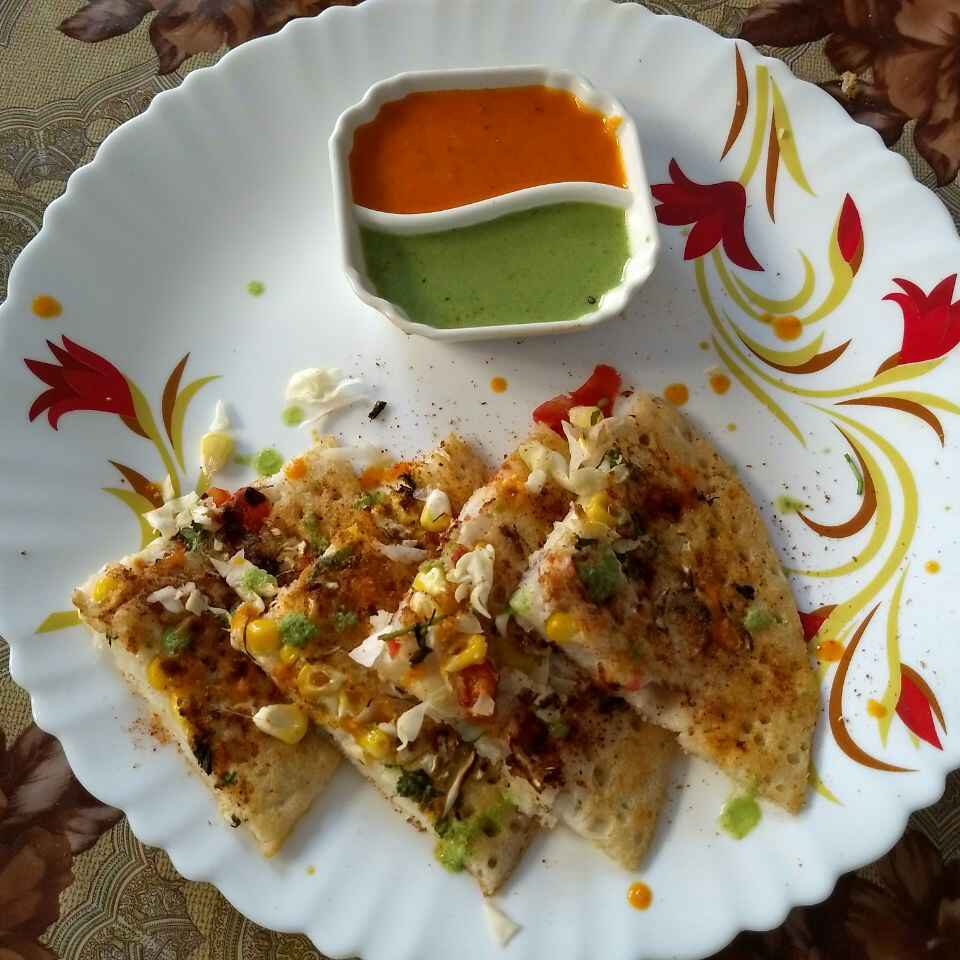 Photo of Vegetables uttapam by kiran purohit at BetterButter