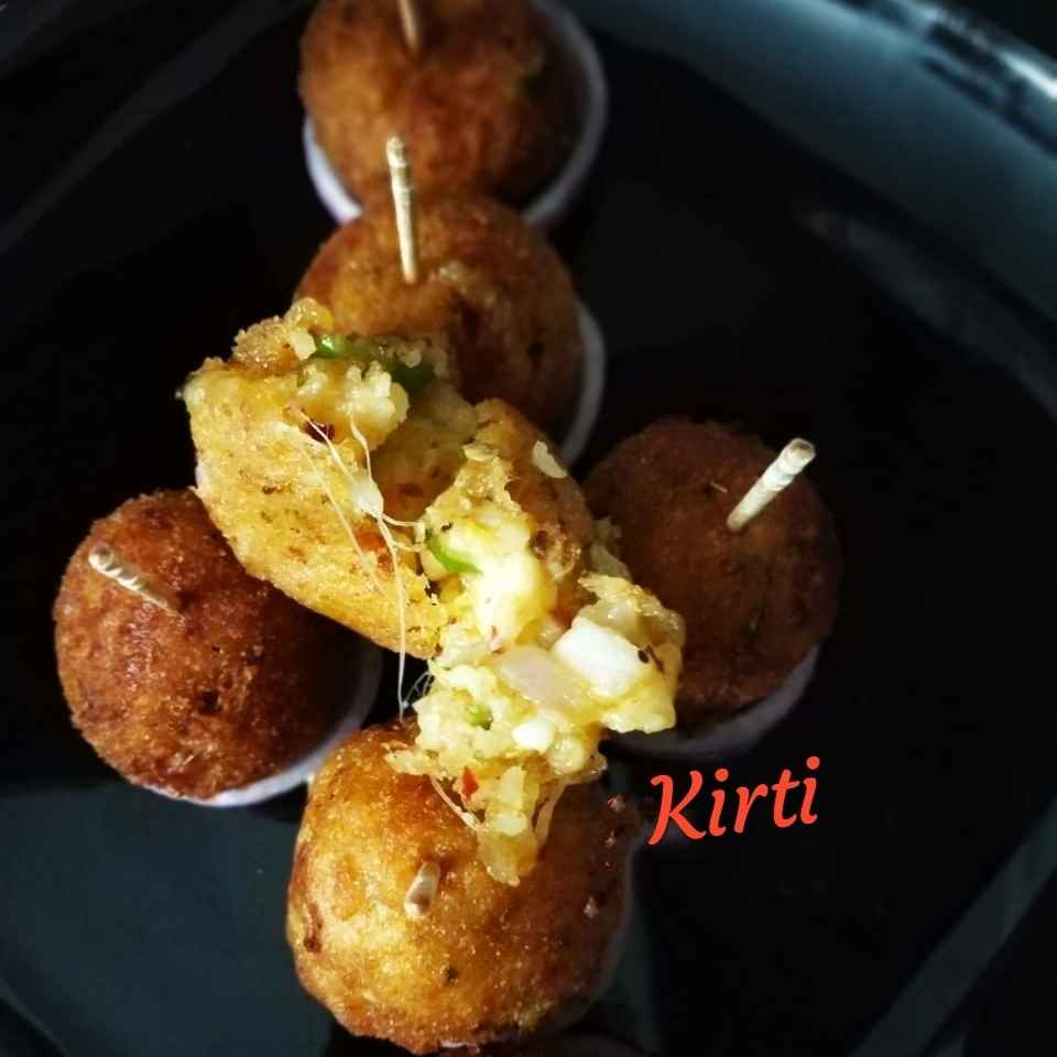 How to make Poha Cheese nuggets