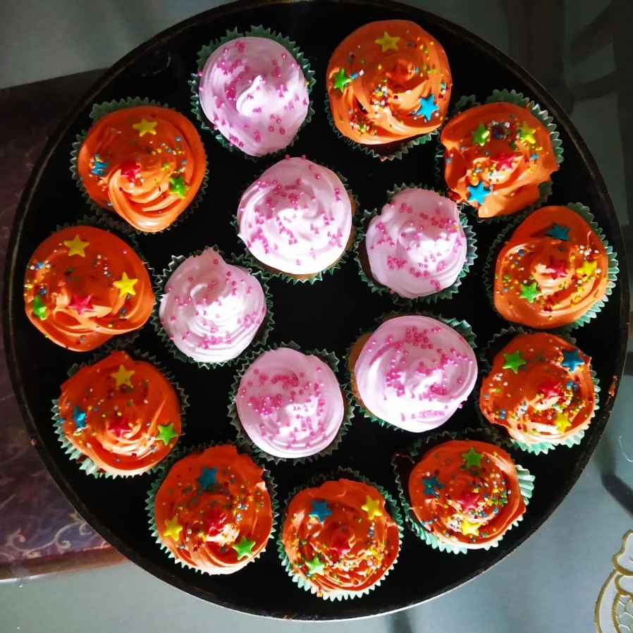Photo of Atta jagerry dry fruits cupcakes by Kirti Das at BetterButter