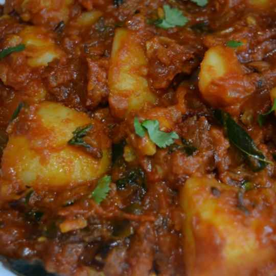 Photo of Spicy potato masala by kifa aboo at BetterButter
