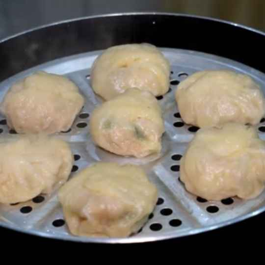 Photo of Chicken momos by kifa aboo at BetterButter