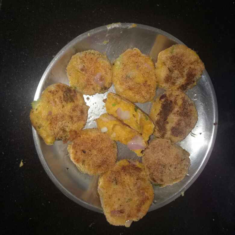 Photo of curd cutlet by Komal Dattani at BetterButter