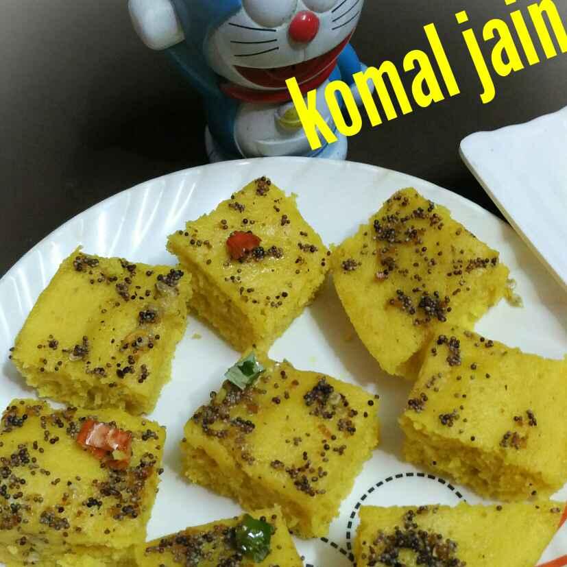 Photo of Yellow dhokla by Komal jain at BetterButter
