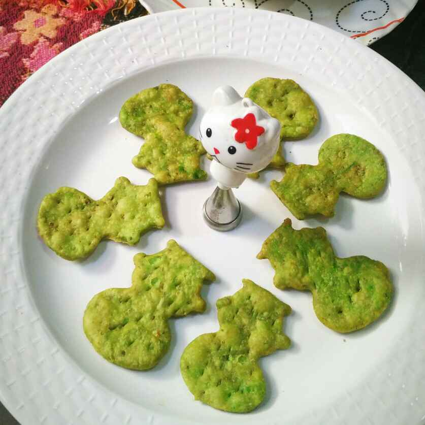 How to make Doraemon peas snacks