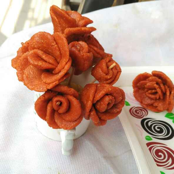 How to make Peanut sweet rose