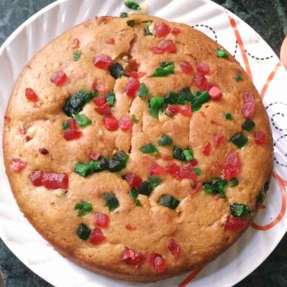 How to make टूटी फ्रूटी केक