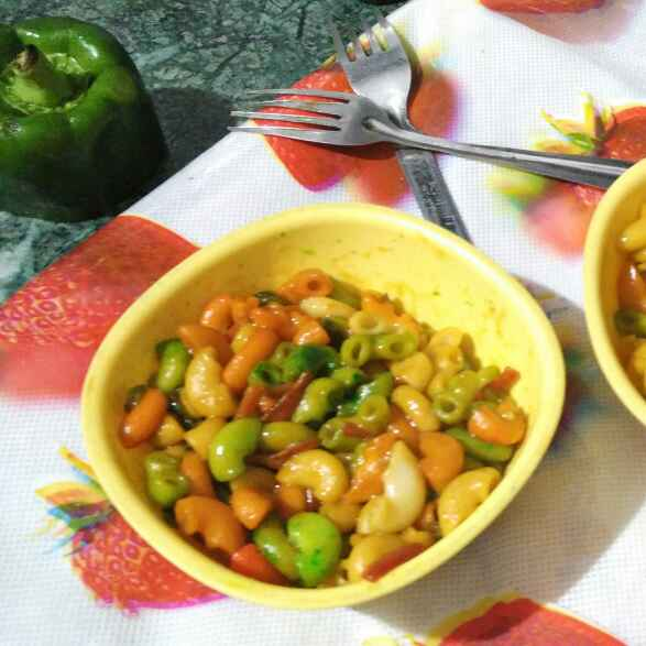 Photo of Try colour macroni by Komal jain at BetterButter