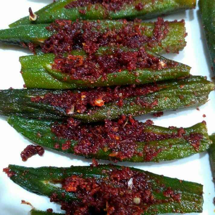 Photo of Lady finger fry by Krishna Bhargavi at BetterButter