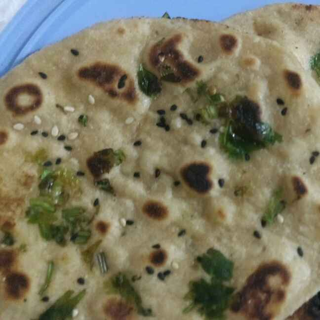 How to make Whole Wheat Butter Naan On Tava