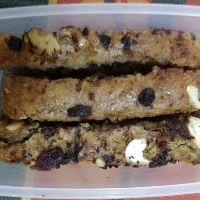 How to make Whole wheat banana cake
