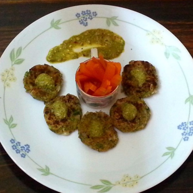 How to make Spicy Chickpea Patties