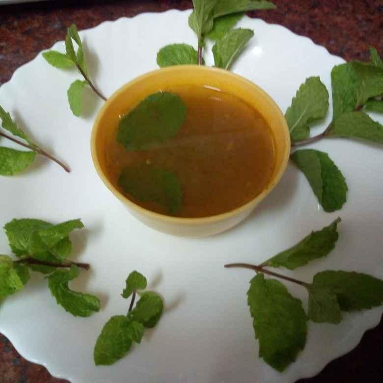 Photo of Mint carrot pepper rasam by Krishnakumari Marupudi at BetterButter