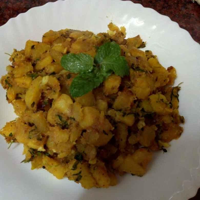 Photo of MENTHI aalo fry by Krishnakumari Marupudi at BetterButter