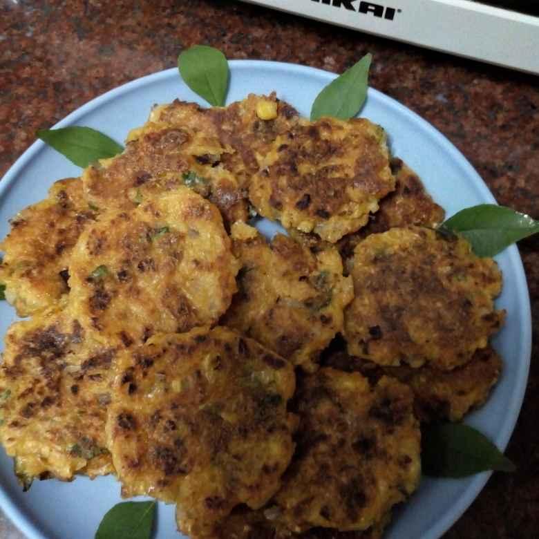 Photo of sweetcorn  cornflakes cutlets by Krishnakumari Marupudi at BetterButter