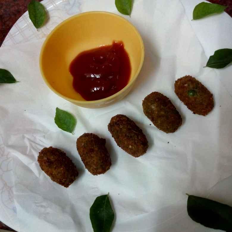 Photo of Green peas bullets  by Krishnakumari Marupudi at BetterButter