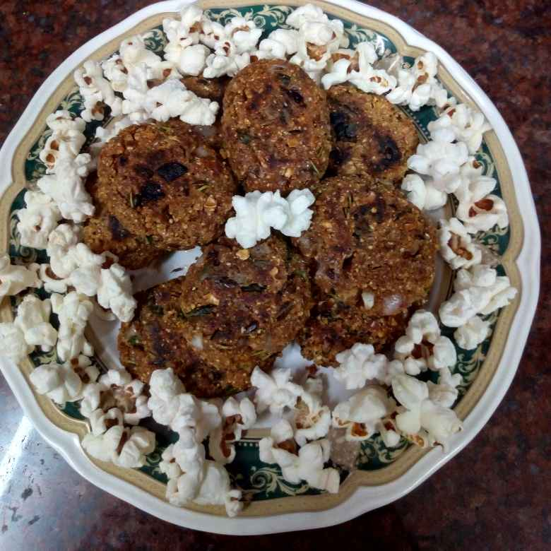 Photo of Popcorn Barley Flax cutlets by Krishnakumari Marupudi at BetterButter