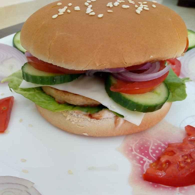 Photo of Chicken burger by Krishnakumari Marupudi at BetterButter