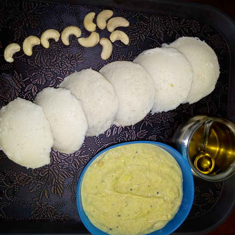 How to make millets idly , peanut chutney
