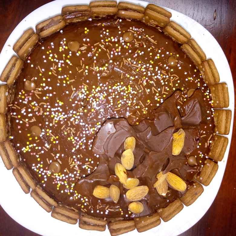 Photo of Cake with pan cake (protien power) by Krishnakumari Marupudi at BetterButter