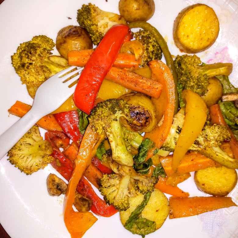 Photo of BAKED vegs by Krishnakumari Marupudi at BetterButter