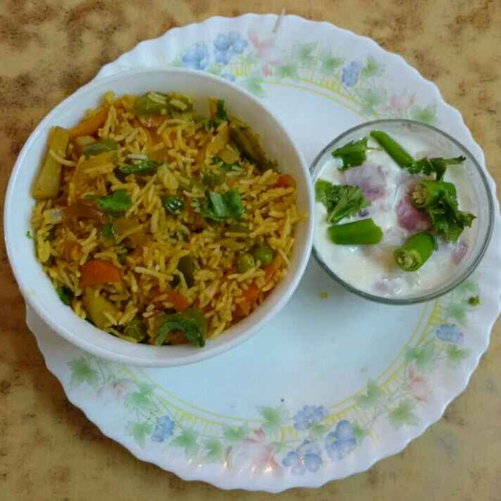 Photo of Instant vegetable rice by Krishnasamy Vidya Valli at BetterButter