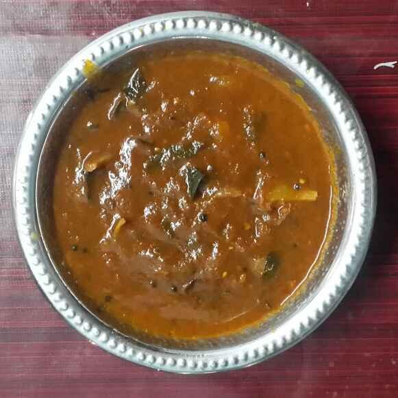 Photo of Tomato kuzhambu by Krishnasamy Vidya Valli at BetterButter
