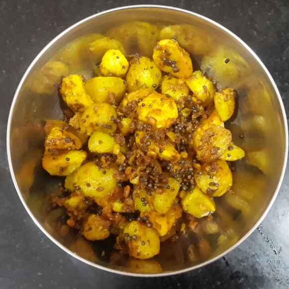 Photo of Sirukizhangu roast by Krishnasamy Vidya Valli at BetterButter