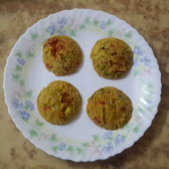 Photo of Spicy Potato  idly by Krishnasamy Vidya Valli at BetterButter