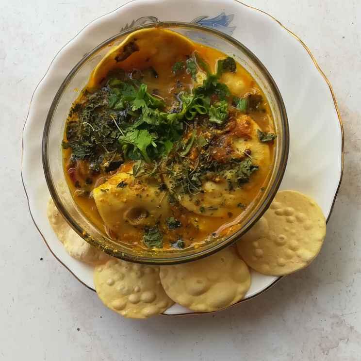 How to make Dagi mini pappad masala